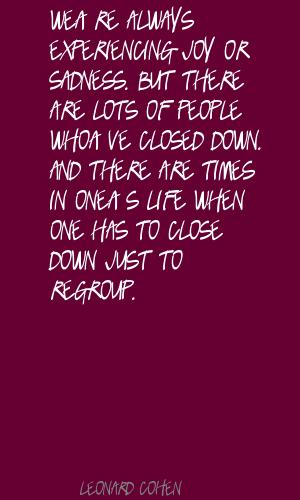 Regroup quote #2