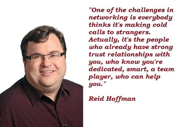 Reid Hoffman's quote #1