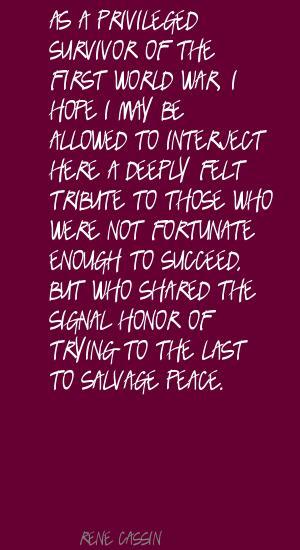 Rene Cassin's quote #2