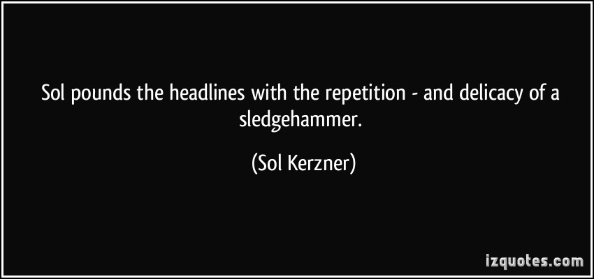 Repetition quote #3