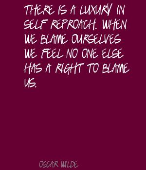 Reproach quote #1