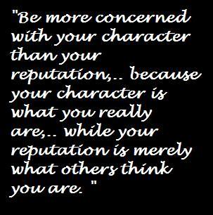 Reputation quote #7