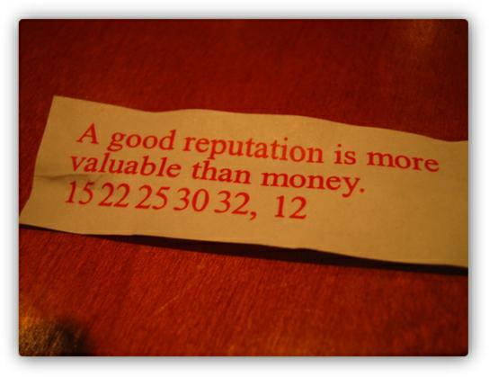 Reputation quote #3