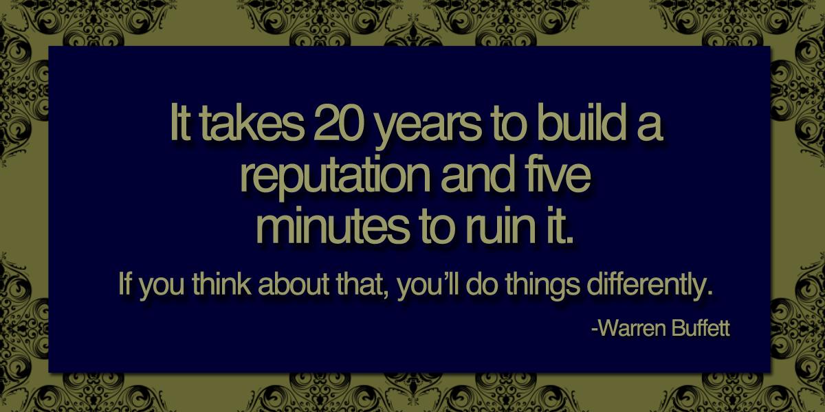 Reputation quote #2