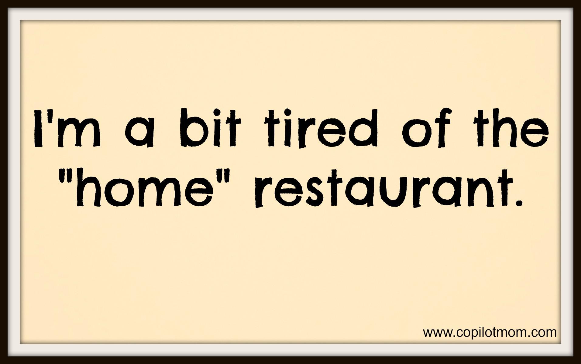 Restaurant quote #6