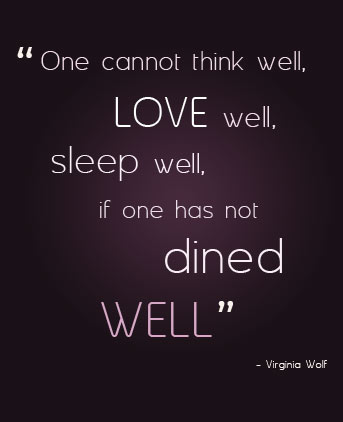 Restaurant quote #1