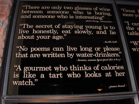Restaurant quote #2