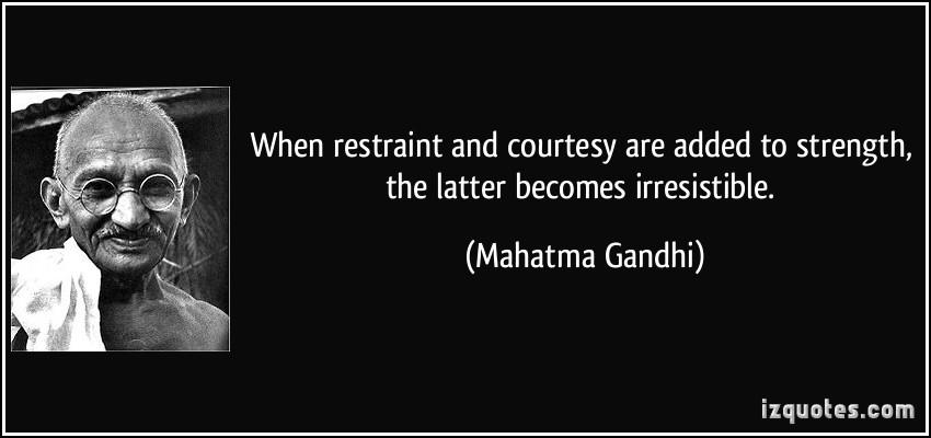 Restraint quote #3