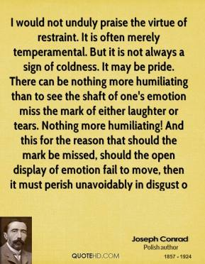 Restraint quote #4