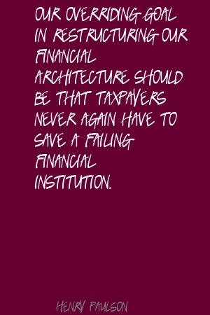 Restructuring quote #2