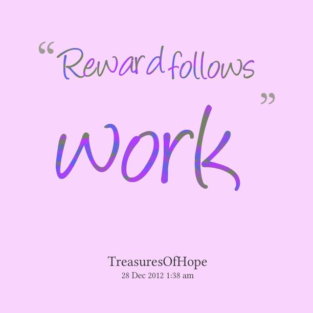 Reward quote #1