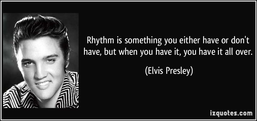 Rhythm quote #1