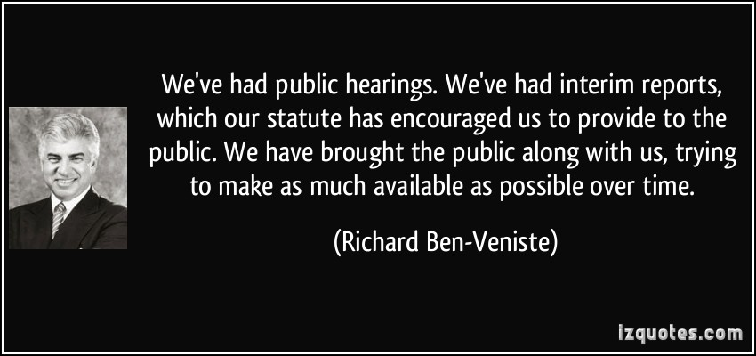 Richard Ben-Veniste's quote #8