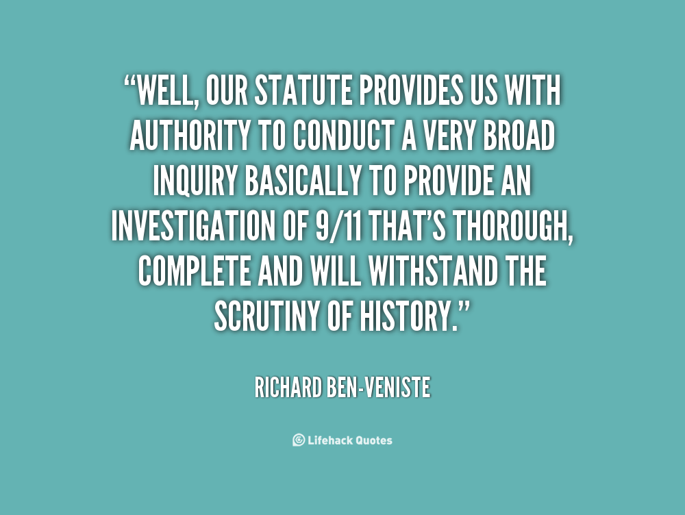 Richard Ben-Veniste's quote #4