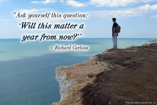 Richard Carlson's quote
