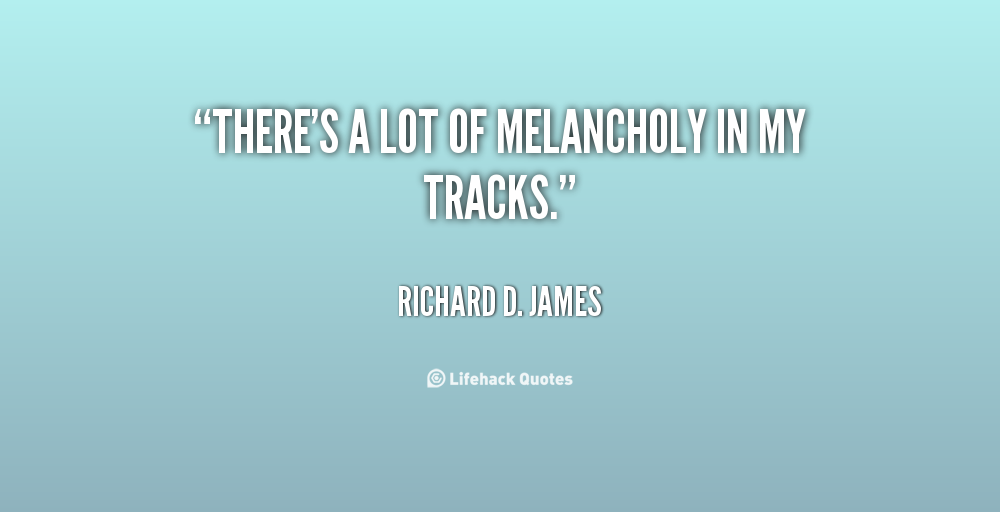 Richard D. James's quote #5