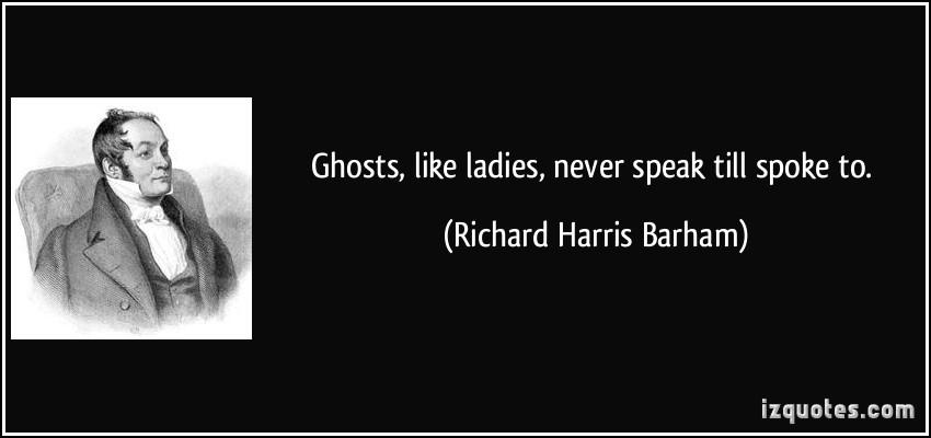 Richard Harris Barham's quote #2
