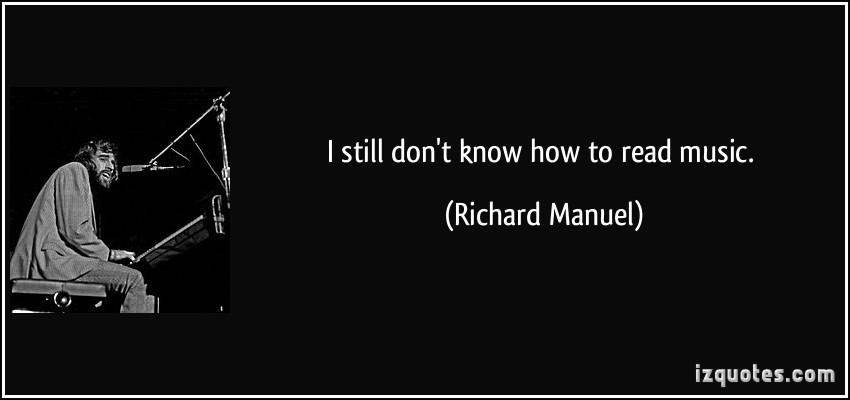 Richard Manuel's quote #2