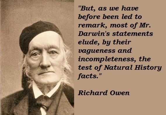 Richard Owen's quote #2