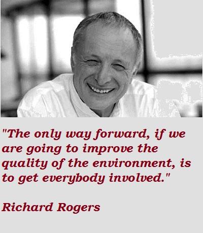 Richard Rogers's quote #1