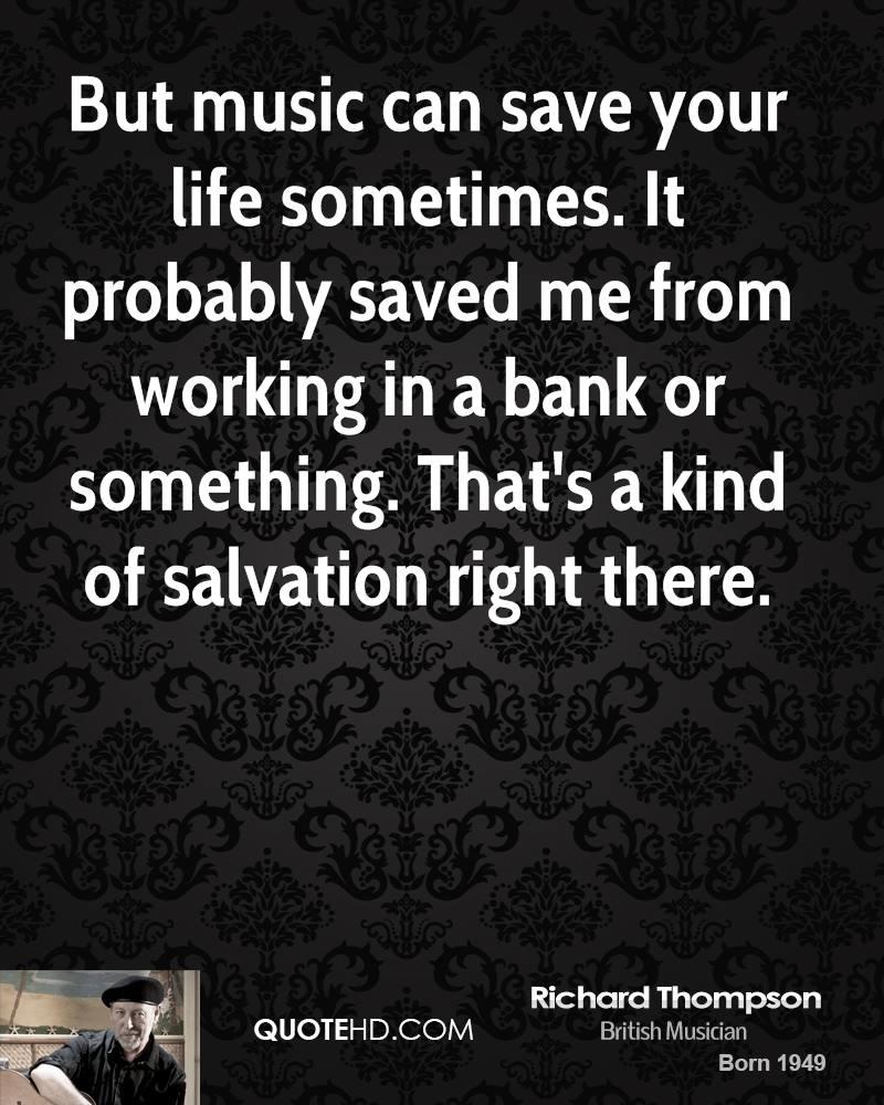 Richard Thompson's quote #1
