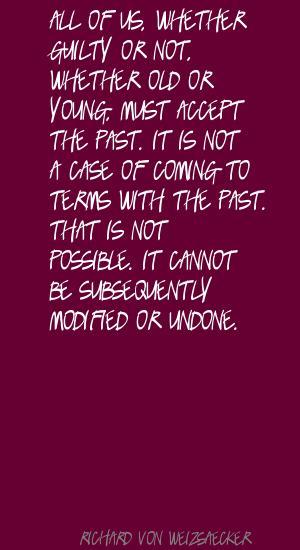 Richard von Weizsaecker's quote #1