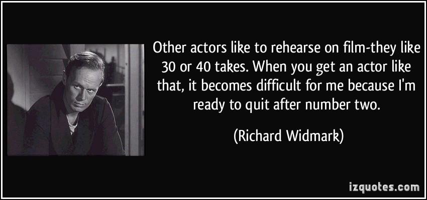 Richard Widmark's quote #1