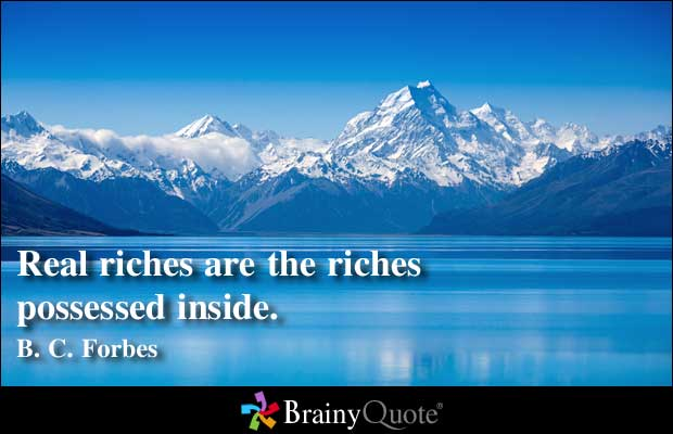 Riches quote #7