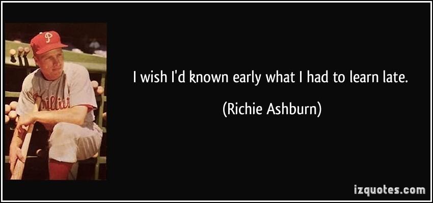 Richie Ashburn's quote #1
