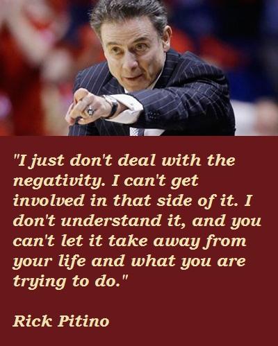 Rick Pitino's quote