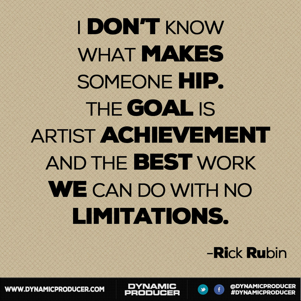 Rick Rubin's quote #1
