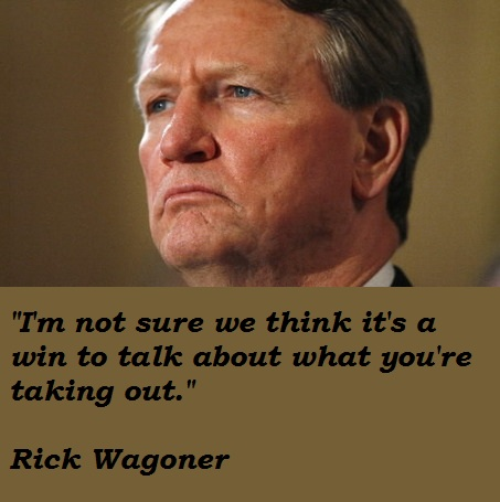 Rick Wagoner's quote #3