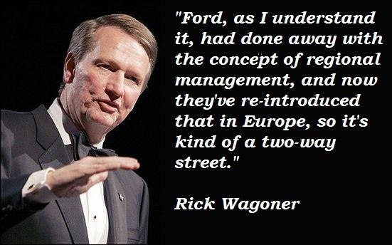 Rick Wagoner's quote #6