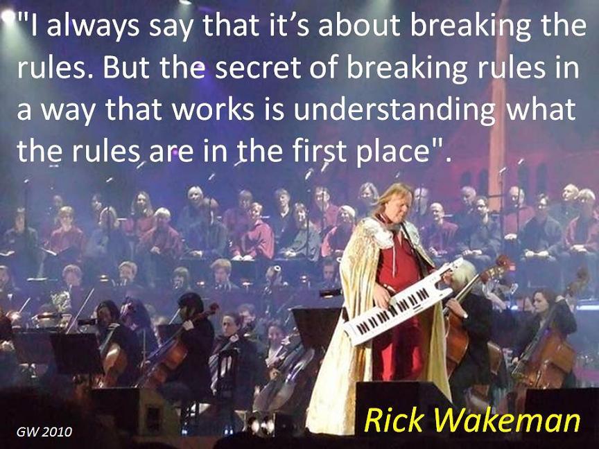 Rick Wakeman's quote