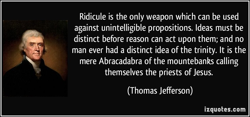 Ridicule quote #3