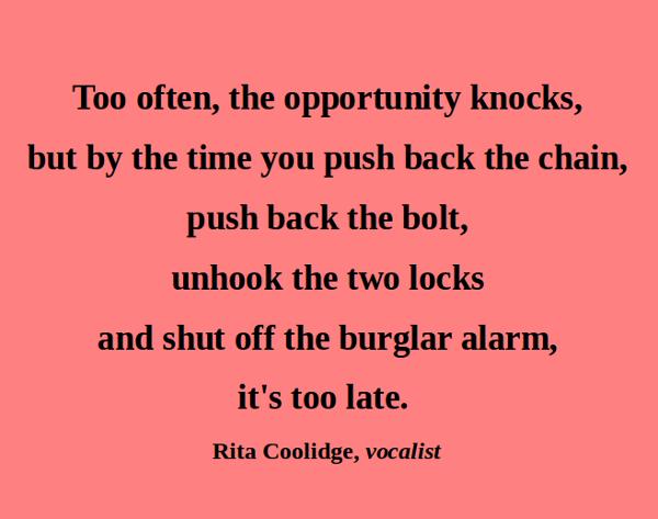 Rita Coolidge's quote #1