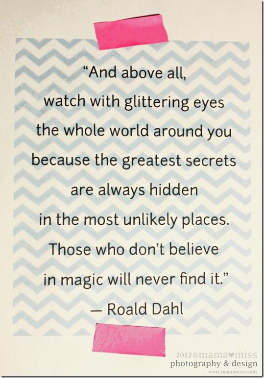 Roald Dahl's quote #1