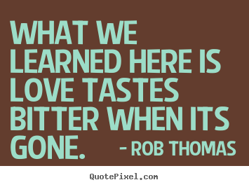 Rob Thomas's quote #4