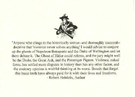 Robert A. Heinlein's quote #2