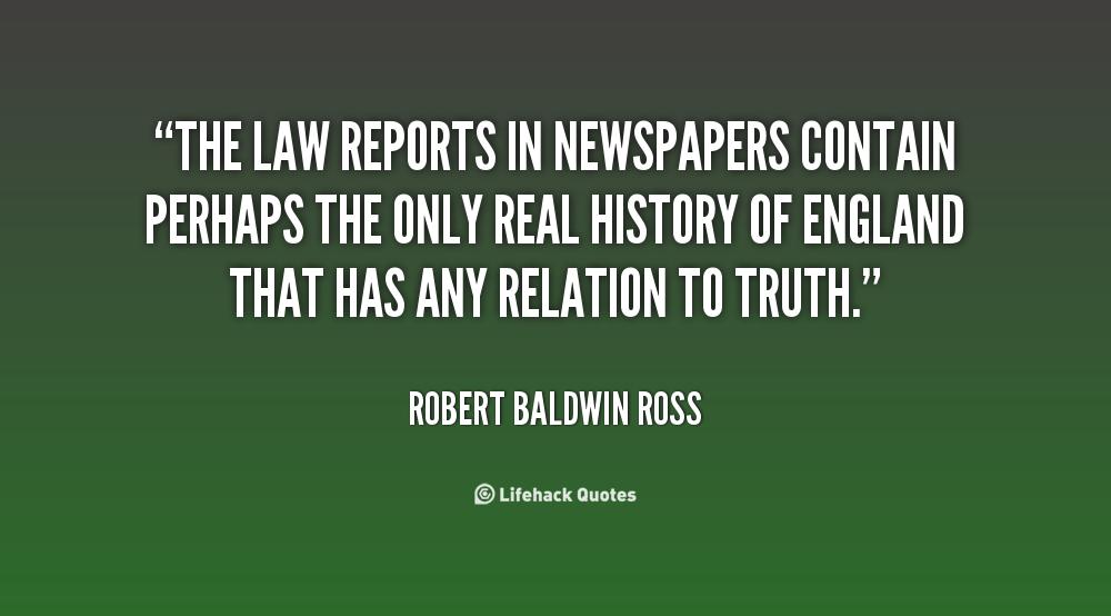 Robert Baldwin Ross's quote #1