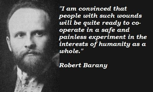 Robert Barany's quote #3