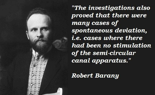 Robert Barany's quote #1