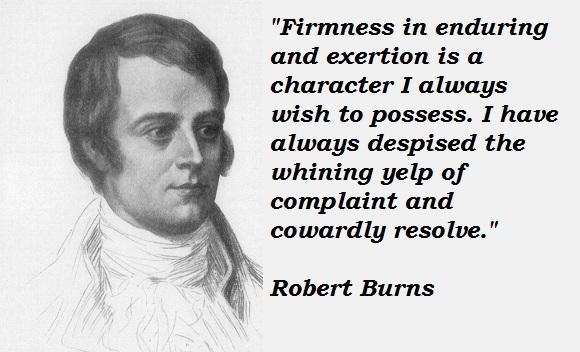 Robert Burns's quote #1