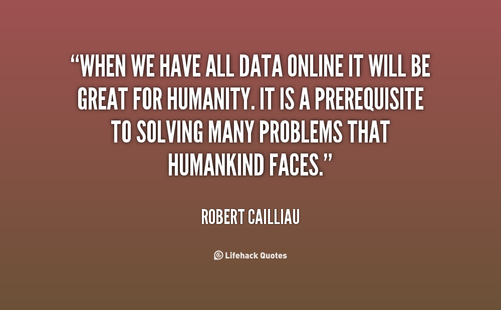 Robert Cailliau's quote #4