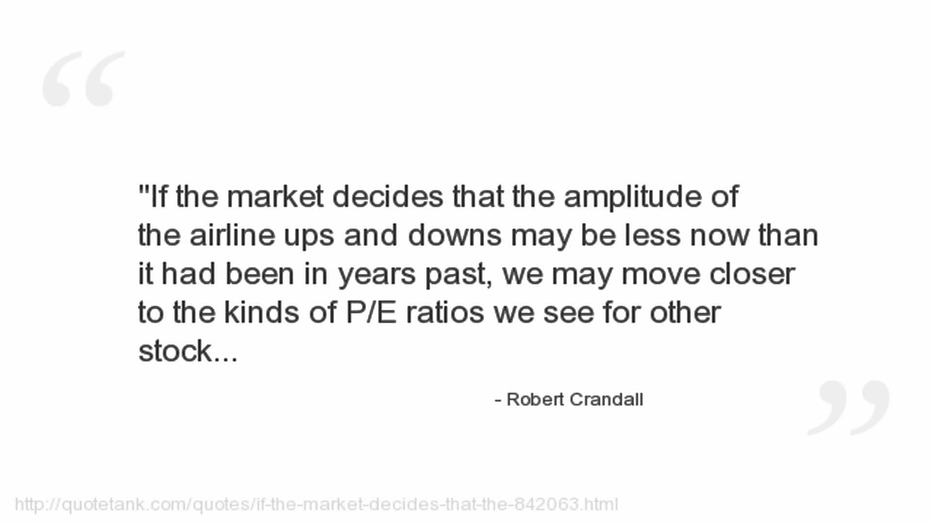 Robert Crandall's quote #7