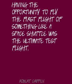 Robert Crippen's quote #1