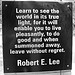 Robert E. Lee's quote #1