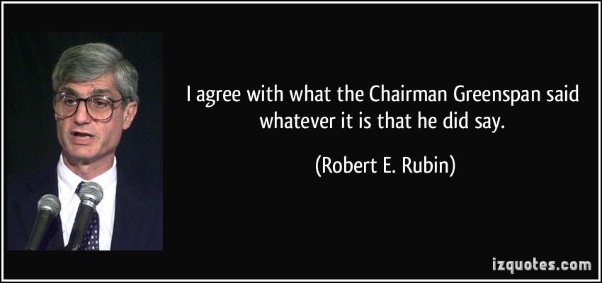 Robert E. Rubin's quote #1