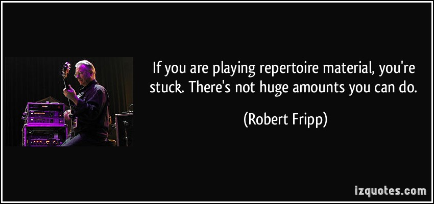 Robert Fripp's quote #7