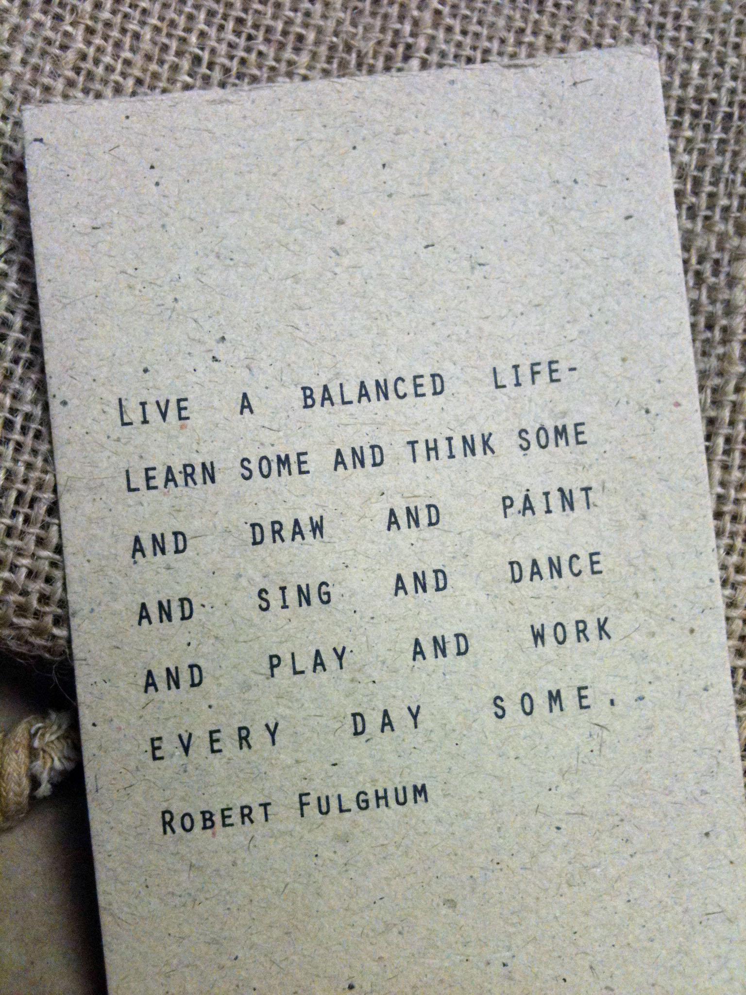 Robert Fulghum's quote #2